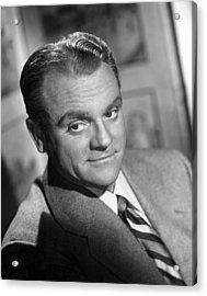 James Cagney, Portrait, 1940s Acrylic Print by Everett