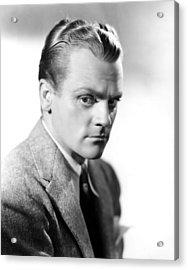 James Cagney, Portrait Acrylic Print by Everett