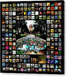 James Granberry Instagram Collage Acrylic Print