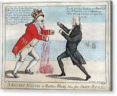 James Madison, A Boxing Match, Or Acrylic Print by Everett