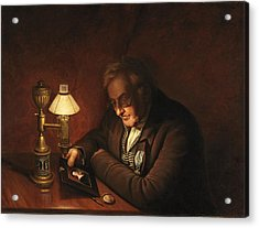 James Peale Acrylic Print by Charles Willson Peale