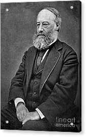 James Prescott Joule, English Physicist Acrylic Print by Science Source