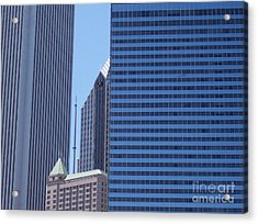 jammer Chicago 014 Acrylic Print by First Star Art