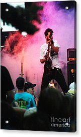 Acrylic Print featuring the photograph Jammin by Gary Brandes