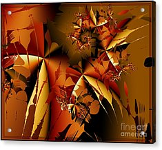 Acrylic Print featuring the photograph Jamming In Autumn by Michelle H