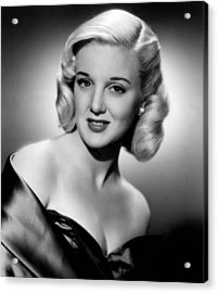 Jan Sterling, 1950 Acrylic Print by Everett