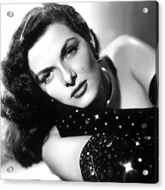 Jane Russell, Ca. Late 1940s Acrylic Print by Everett