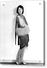 Janet Gaynor, 1929 Acrylic Print