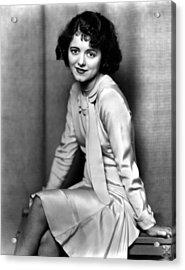 Janet Gaynor, Ca. 1932 Acrylic Print