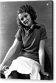Janet Gaynor, Fox Film Corp, 1931 Acrylic Print