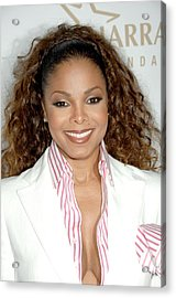 Janet Jackson At Arrivals For 19th Acrylic Print by Everett