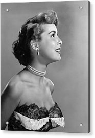 Janet Leigh, Ca. Early 1950s Acrylic Print by Everett