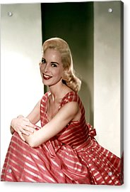 Janet Leigh In The 1950s Acrylic Print by Everett