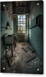 Janitors Closet Acrylic Print by Gary Heller