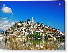 Acrylic Print featuring the photograph Janitzco Reflections by Joan McArthur