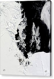 January 18, 2010 - Ross Sea, Antarctica Acrylic Print by Stocktrek Images
