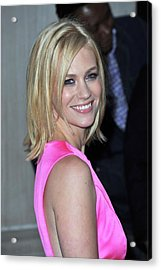 January Jones At Arrivals For Tommy Acrylic Print by Everett