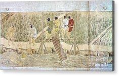 Japan: Irrigation, C1575 Acrylic Print by Granger