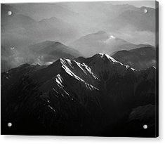 Japanese Alps Acrylic Print by José Rentería Cobos photography