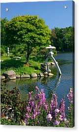 Acrylic Print featuring the photograph Japanese Garden by Cindy Haggerty