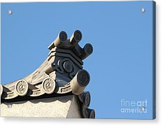 Japanese Rooftop Acrylic Print