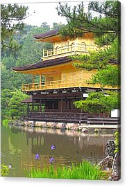 Japanese Temple Acrylic Print by Nian Chen