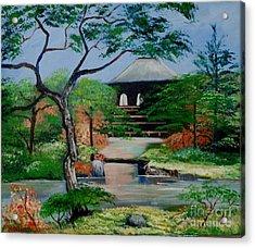 Jardin Japonais  Acrylic Print