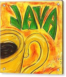 Java Acrylic Print by Lee Halbrook