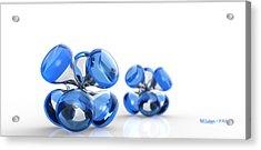 Jax Blue Dof Acrylic Print