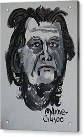 Jay - Self Acrylic Print by Jay Manne-Crusoe