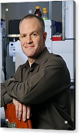 Jay Keasling, Us Scientist Acrylic Print by Volker Steger