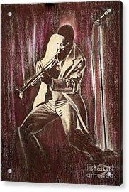 Jazz Acrylic Print by Anastasis  Anastasi