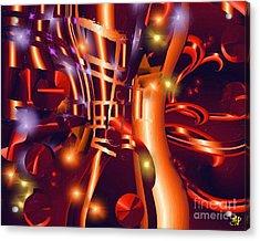 Jazz And Light Acrylic Print