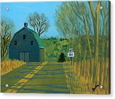 Jct 131 Acrylic Print by Laurie Breton