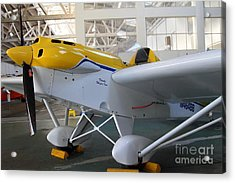 Jdt Mini Max 1600r . Eros . Single Engine Propeller Kit Airplane . 7d11169 Acrylic Print by Wingsdomain Art and Photography