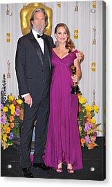 Jeff Bridges, Natalie Portman, Best Acrylic Print by Everett