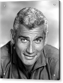 Jeff Chandler, Ca. Late 1950s Acrylic Print by Everett