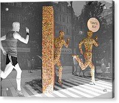 Jelly Beings Acrylic Print by Stav Stavit Zagron