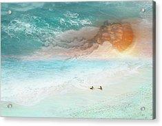 Jelly Sun Acrylic Print