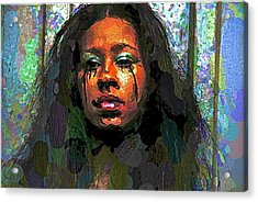 Acrylic Print featuring the photograph Jemai by Alice Gipson