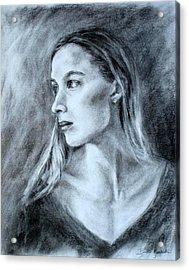 Jennifer Acrylic Print by Bonnie Goedecke