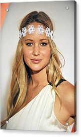 Jennifer Lawrence At Arrivals For 6th Acrylic Print by Everett