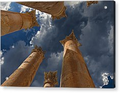 Acrylic Print featuring the photograph Jerash by David Gleeson