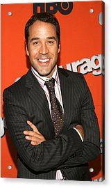 Jeremy Piven At Arrivals For Hbo Season Acrylic Print by Everett