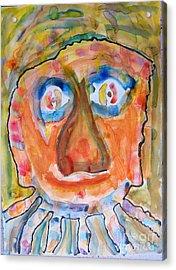 Jerry K. Acrylic Print by Bill Davis