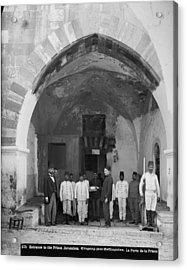 Jerusalem, American Colony, Entrance Acrylic Print by Everett