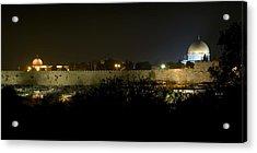Jerusalem- City On A Hill Acrylic Print