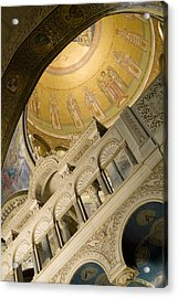 Jerusalem, Israel, Church Of The Holy Acrylic Print by Richard Nowitz