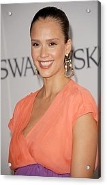 Jessica Alba At Arrivals For The 2011 Acrylic Print