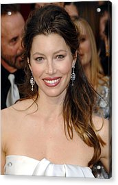 Jessica Biel At Arrivals For 81st Acrylic Print by Everett